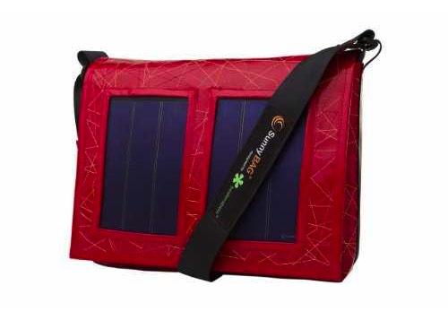 Solartasche in einem Hippen Design